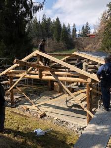 Frontarbeit Dach